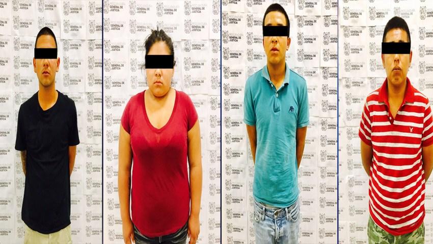 Arrestan a presuntos halcones PGJ 5-16-17