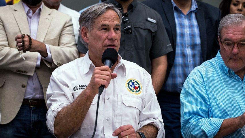 Gobernador Greg Abbott.