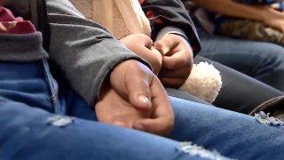 Mujeres inmigrantes manos