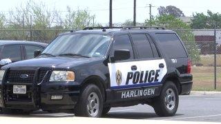 Patrulla de la policia de Harlingen.