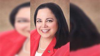Sylvia Atkinson vicepresidenta de la mesa directiva de Brownsville ISD