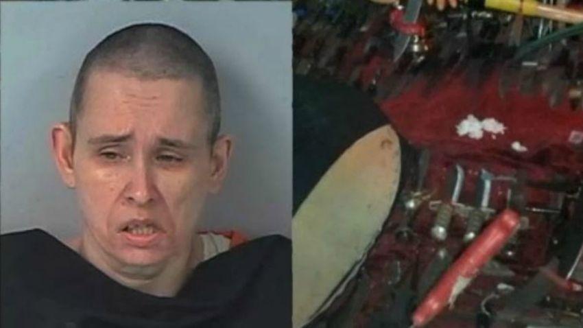 TLMD-Florida-nikole dykema-arrestada-danos-acasas-de-vecinos-hallan-casa-repleta-de-cuchillos-y-altares-satanicos-Eldorado-00-