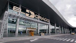 Aeropuerto El Dorado en Bogotá, Colombia