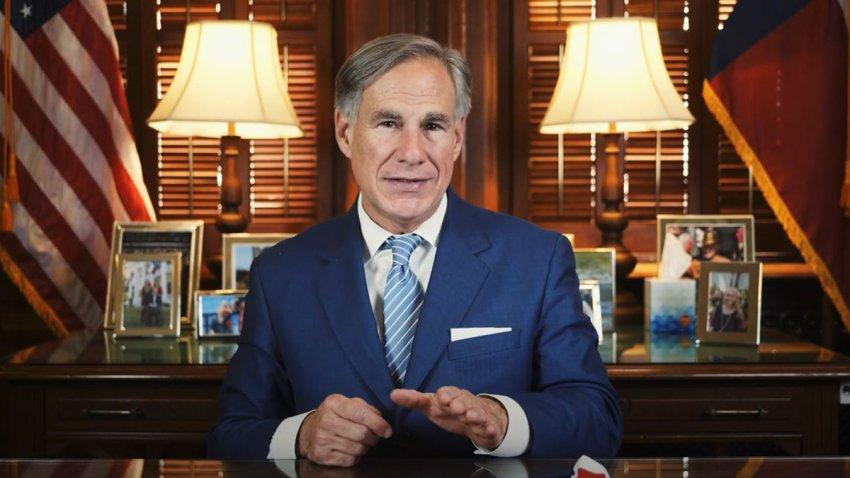 Gobernador Greg Abbott