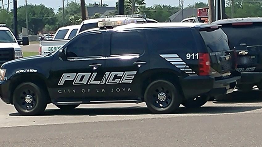 patrulla de la policia de La Joya