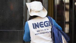 Personal del INEGI realiza el censo poblacional en México