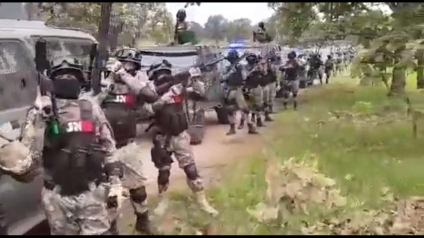 Supuesto grupo de élite del Cártel Jalisco