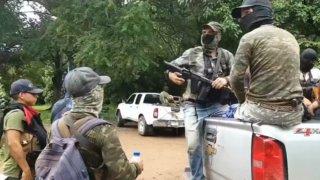 Autodefensas en el estado de Michoacán