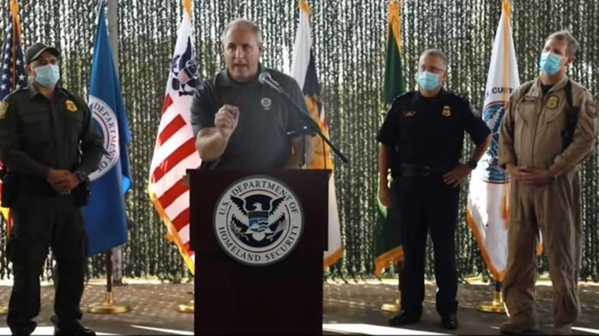 comisionado Mark Morgan.