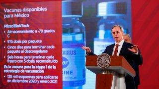 Subsecretario de Salud de México presenta plan de vacunación contra COVID-19