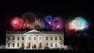white house fireworks