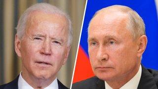 El presidente Joe Biden tuvo su primera llamada con el primer ministro ruso, Vladimir Putin.