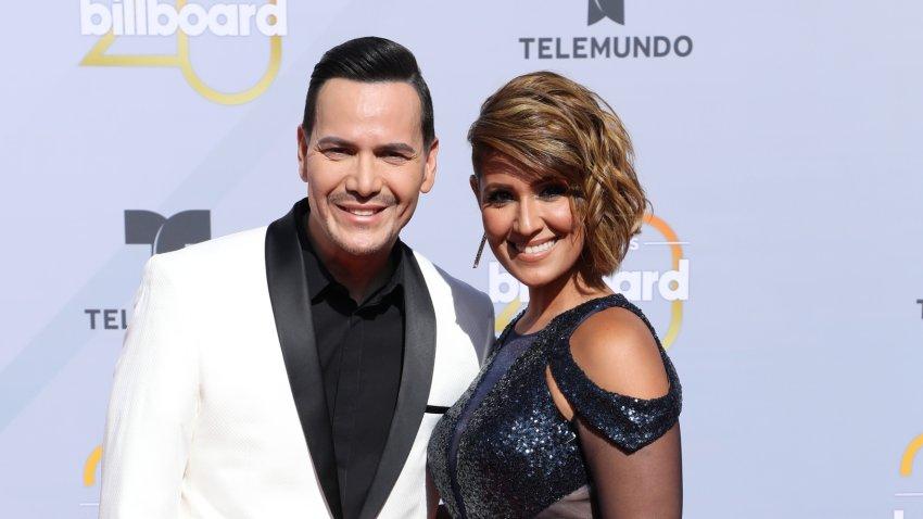 Víctor Manuelle y su ahora esposa, Frances Franco.