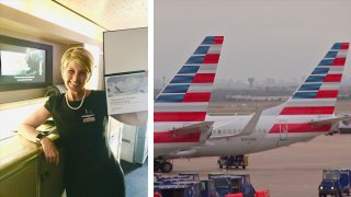 A longtime American Airlines flight attendant is suing the airline over how it handled her complaint that she was sexually assaulted by a celebrity chef during a work trip.