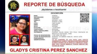 Reporte de búsqueda de familia desaparecida