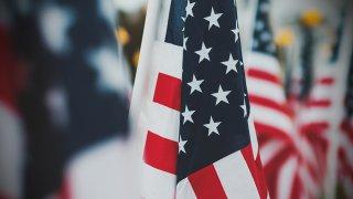 Foto de banderas de Estados Unidos