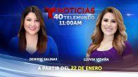 Telemundo 40 estrenará Noticias Telemundo 40 a las 11:00AM