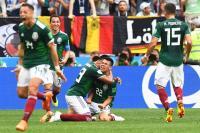 Alemania nunca había perdido su primer partido mundialista tras salir campeón y México logró derrotarlos.