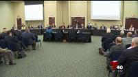 Miembros de la Coalición Fronteriza de Texas se reunieron en la ciudad de Weslaco para participar en una audiencia sobre aspectos que impactan la frontera...
