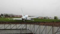 La aeronave cumplía la ruta entre Quito y Cuenca.