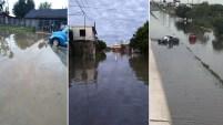 El paso de tormentas severas dejaron daños a propiedades, inundaciones y apagones.