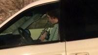 El insólito hecho fue grabado el 18 de noviembre sobre la autopista I-15 en el condado Utah. Mira el video.