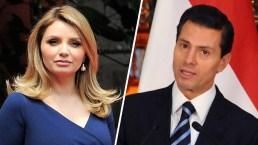 """Las supuestas exigencias de """"La Gaviota"""" a Peña Nieto para el divorcio"""