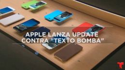 "Apple urge actualizar contra ""texto bomba"" que daña tu iPhone"