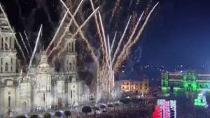Continúan los festejos de la independencia de México