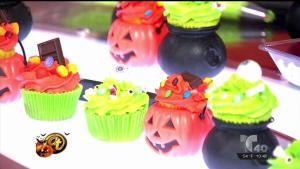 Decoraciones de cupcakes para Halloween