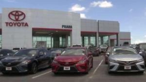 Intercambie su auto por uno nuevo en Toyota of Pharr