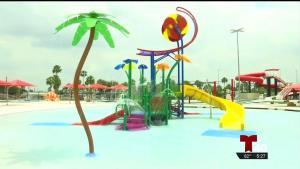 La Joya ISD inaugura parque acuático