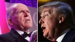 Vuelan chispas entre el director de la CIA y Trump