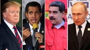 Lucha por Venezuela: Trump y Putin pactan no intervenir