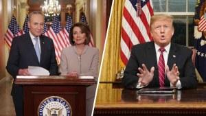 Trump y demócratas no ceden en posiciones sobre muro
