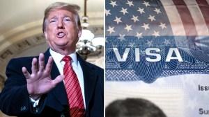 Visas para EEUU: Trump anuncia cambios migratorios