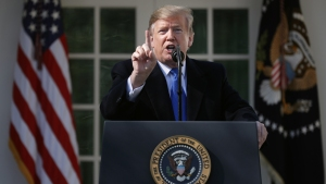 Trump anuncia emergencia nacional