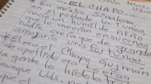 """Compositora texana dedica un corrido a """"El Chapo"""""""