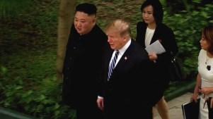Sin acuerdo nuclear, Trump y Kim terminan su cumbre