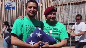 Indocumentado que peleó en Irak se hace ciudadano