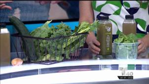 Receta: Jugo verde con propiedades antiinflamatorias