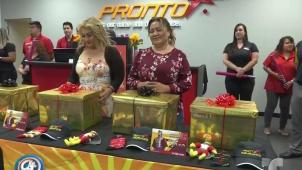 Pronto Insurance regala dos autos