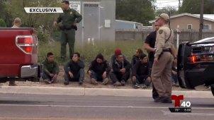 Captan en cámara detención de inmigrantes en Palmview