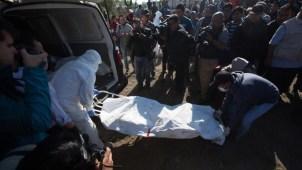 México: la tensa espera para identificar a las víctimas