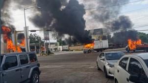"""Arde Sinaloa por captura de hijo de """"El Chapo"""" Guzmán"""