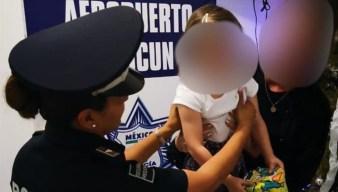 Rescatan en Cancún a una menor española secuestrada