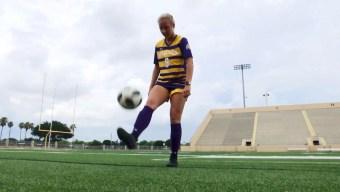 Su pasión por el fútbol la llevó a una temporada histórica