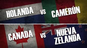 Copa Mundial: mira aquí en vivo los partidos de este sábado