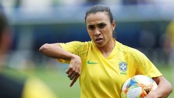 Marta y Brasil buscan el pase a la próxima ronda en el Mundial Femenino Francia 2019