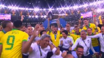Así fue como se celebró a Brasil tras ganar la Copa América